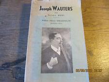 Joseph Wauters MASY 1930?