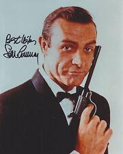 Sean Connery HAND Signed 8x10 Photo, Autograph, James Bond, Goldfinger, 007 (B)
