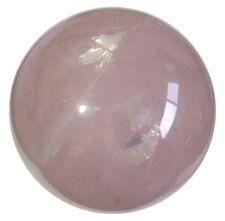Rose Quartz Sphere Ball Art Reiki Healing Table Décor Natural Crystal 55-60MM