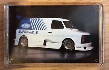 Ford Supervan 2 ~ Fridge Magnet / Mini Frame