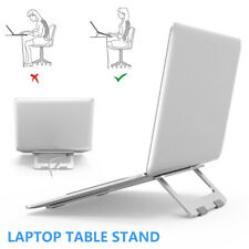 Adjustable Laptop Stand Computer Tray Holder Riser Desk Table Bed Sofa Portable