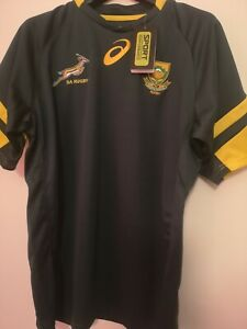 SOUTH AFRICA 2015/2016 SPRINGBOKS RUGBY UNION ASICS SHIRT JERSEY SIZE 3XL - NEW