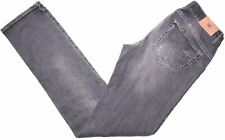 LIU JO Womens Jeans W30 L35 Grey Cotton Straight  EQ15