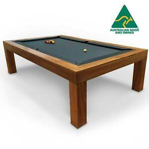 8 Foot Slate Statesman Pool Table/ Dining Table