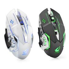 X8 Wireless 2.4GHz Mute Rechargeable Mouse LED Backlit Optical Gaming Mice