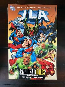 JLA Syndicate Rules Vol 17 Mid Grade DC Trade CL75-88