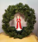 """Vintage Mr Christmas Presence Activated Singing Wreath 15"""" Indoor/Outdoor"""