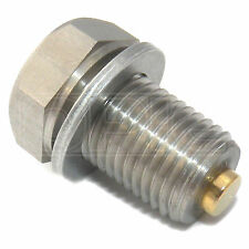 Gold Plug AP08 Magnetic Oil Drain Sump Plug AP-08 | 14mm Diameter, 1.5 Pitch