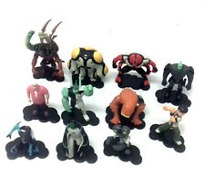 CARTOON NETWORK BEN 10 giocattoli lotto di 11 mini figures dettagliate Inc Kevin 11