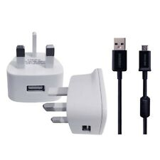 Cargador De Pared & plomo de datos USB para PANASONIC LUMIX GX80 12 32 mm Cámara