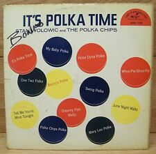 Stan Wolowic & The Polka Chips - It's Polka Time (ABC-151) Paramount Vinyl LP