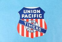 "VINTAGE 1956 UNION PACIFIC RAILROAD ""OLD TIMER CLUB"" #15 LUNCHEON PROGRAM MENU"