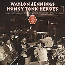 Waylon Jennings - Honky Tonk Heroes [New CD]