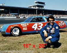 "Richard Petty~Race Car Driver~Daytona~Nascar~Photo~ Poster~16""x 20"""