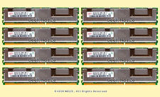 Server RAM 32GB 8x 4GB PC2-5300F FB DIMM Fully Buffered DDR2 667 FIT Dell HP IBM