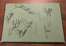 Jack Nicklaus, Sam Snead, Larry Mize, Els, Kite + Signed Book Cover PSA Gtd Auto