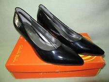 """Gabriella Rocha Valentin 8.5M Black Patent PU Upper Pump 2 3/4"""" Heel NIB Nice!"""