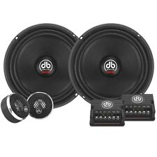 "New Audiophile Competition WDX65C 6.5"" Component Speaker System 500 Watts"