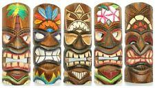 Tiki Maske 30 cm Hawaii Maui Style Bar Party Südsee Wandmaske Wandbrett '