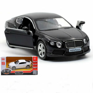 1:36 Bentley Continental GT V8 Luxury Collectible Vehicle Pull Back Diecast Toy