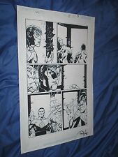 GREEN LANTERN #35 Original Art Page #3 ~Billy Tan/Rob Hunter JLA/MOVIE Comic Art