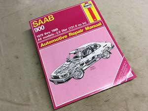 Saab 900 Repair Service Shop Manual 1979–88 Haynes