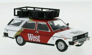Ixo 1/43 Fiat 131 Panorama West Team Rally Assistance 1977 RAC306X