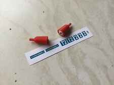 Dinky Toys # 101 Thunderbird 2  1xPair Repro  rocket exhausts +Green Sticker Set