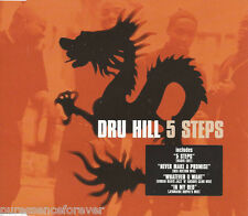 DRU HILL - 5 Steps (UK 4 Track CD Single)