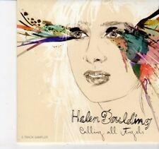 (DI10) Helen Boulding, Calling All Angels 5 track sampler - 2012 DJ CD