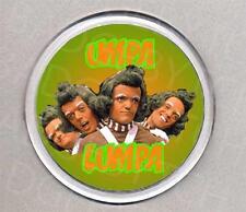 UMPA LUMPA round drinks COASTER -  WONKA CLASSIC!