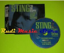 CD Singolo STING I'm so happy i can't stop crying  1996 AEM   mc dvd (S7)