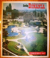 BONANZA - Aug 20, 1961 - SF Chronicle -Oakland's Park In The Sky - Kaiser Center