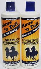 MANE 'N TAIL ORIGINAL SHAMPOO & CONDITIONER 355ML/12OZ FAST POST!