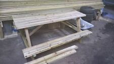 Handmade Wooden More than 6 Garden Chairs, Swings & Benches