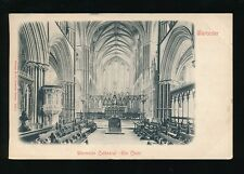 Worcestershire WORCESTER Cathedral Choir 1904 u/b PPC Stengel 19511