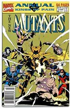 NEW MUTANTS ANNUAL #7(1991)1:FULL X-FORCE(X-FACTOR)NEWSSTAND(CGC WORTHY)9.4/9.6!