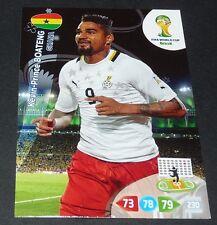 KEVIN-PRINCE BOATENG GHANA FOOTBALL CARD PANINI FIFA WORLD CUP BRASIL 2014