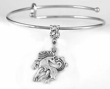 Horse bracelet Horse bangle Horse jewelry Pony gift Wildfire present best gift