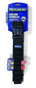 Mossberg Gear - Shotgun Bandolier - 45 Rnd - Black - Bandoleer - MSBRG004-BLK