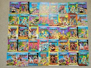 Vintage Masters of The Universe Mini comic Book Lot of 40