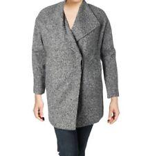 Jones New York Womens Plus Size Long Wool Coat