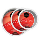 3-Piece Round Cake Pan Set Includes 4