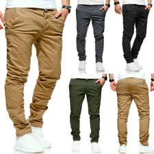 Jack & Jones Jeans Chinohose MARCO Slim-Fit Hose Chino Beige/Schwarz/Navy NEU