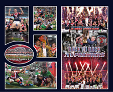 New! Sydney Roosters 2019 Premierships Memorabilia frame, limited edition w/ COA