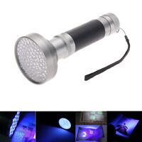 100 LED UV Ultra Violet 395-400nm Flashlight Torch Super Bright Detection Light