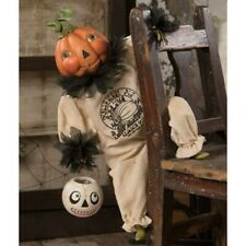 Bethany Lowe Pumpkin Pie Clown Halloween Holiday Retro Vntg Decor Figurine Gift