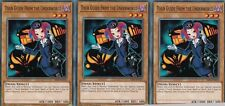 YuGiOh CARD - 3 X TOUR GUIDE FROM THE UNDERWORLD SR06-EN019 LAIR OF DARKNESS
