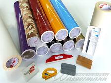 Plotterfolien-Paket, 60 Meter Klebefolie + Tape + viel Zubehör - TOP-Aktion!