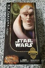 """Bib Fortuna STAR WARS SIDESHOW Collectibles 1:6 Scale 12"""" EXCLUSIVE"""